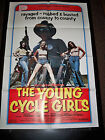 THE YOUNG CYCLE GIRLS US ORIGINAL ONE SHEET POSTER 27x41 1977 EXPLOITATION