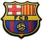 1 X Fc Barcelona Futbol Football Soccer Ironon Embroidered Patch Emblem Logo
