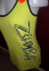 Zumba Racerback Tank Top GREEN  Black Womens XL NEW NWT Made with Love