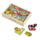 Melissa Doug 20 Animal Magnets in a Box New Free Shipping