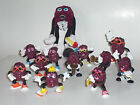 Vintage Lot of 12 California Raisins Figures,  skater, surfer  etc.1987/88