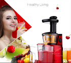 Slow Juicer Fruits Vegetables Blender Machine Juice Extractor Maker Fruit 250W