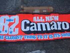 NOS 1982 CAMARO DEALER SHOWROOM BANNER WITH ORIGINAL BOX NEVER USED PACE CAR