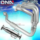 PAINT FINISHED MANIFOLD HEADER+TEST PIPE FOR 2G ECLIPSE TALON AVENGER 2G NT 20