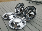 03 17 DODGE RAM 3500 17 Dually Chrome Wheel Simulators Dual Skins Liners Covers
