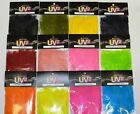 SPIRIT RIVER UV2 STRUNG MARABOU FEATHERS FOR FLY AND JIG TYING YOU PICK COLOR
