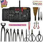 14 pcs Versatile Carbon Steel Bonsai Gardening Plant Equipment DIY Tools Kit Set