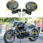 Motorcycle Rear View Side Mirrors 8/10MM for HARLEY HONDA SUZUKI YAMAHA KAWASAKI