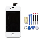 For iPhone 4S White Replacement Part - LCD and Touch Screen Digitizer Assembly +