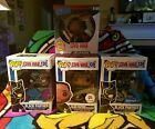 Funko Pop Civil War Lot Of 4 Black Panther Limited Chase and Exclusives