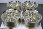 17 5x120 Gold Wheels Fits BMW 323 325 135 318 328 Cadillac CTS 3 Series Rims
