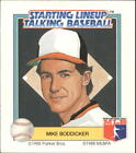 1988 Starting Lineup Orioles #2 Mike Boddicker