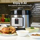 New Electric Pressure Cooker Digital Stainless Steel Steam Rice Slow Cookware