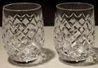 2 VINTAGE WATERFORD POWERSCOURT 12 OUNCE TUMBLER GLASSES