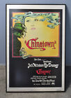 CHINATOWN 1974 ONE SHEET LINEN BACKED POSTER VF+ Beautiful specimen