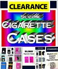 Cigarette Cases, Silicone, Leather, Standard, Slims & 100's, Protect your Smokes