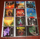 12 THRASH CD DEATHWISH  ATROPHY MERCILESS VENDETTA ANGEL DUST ATROPHY MESSIAH