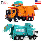 2017 Toy 1 24 Scale Diecast Vehicle Material Transporter Garbage Truck Construct