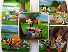 15 Disney Mickey Mouse Outdoors Stickers Party Favors Teacher Supply Goofy