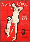MON ONCLE 1958 Rare Original release French Jacques Tati poster filmartgallery