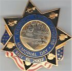 2007 National Police Officers Memorial Day badge