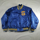 Chalk Line San Jose State Varsity Jacket XL Blue Yellow VTG 80s 90s USA button