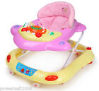 8209A New 1 Baby Yellow Plastic Collapsible Comfortable 8 Wheels Baby Walker