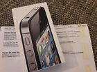 Apple iPhone 4s 16GB Schwarz OVP Ungeffnet wie NEU Refurbished 19990 Garantie