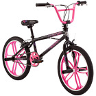 Mongoose Freestyle BMX Bike For Girls Kids Bicycle Steel Frame Freestyle Bikes