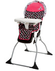 Disney Baby Minnie Mouse Fast Pack High Chair Up to 50 Lbs New Model J33 HC201