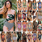 Lots Womens One Piece Monokini Swimwear Swimsuit Push Up Bathing Suit Playsuits
