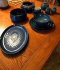 Midnight Blue Handcrafted Denby Fine Stoneware made in England.