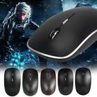 2.4G Four Key Slim Wirelss Mouse with Receiver for Office Desktop Laptop Tablet