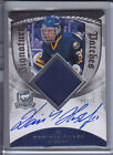 2008-09 UD THE CUP DOMINIK HASEK AUTO PATCH 75 SIGNATURE PATCHES #SP-HK 08-09