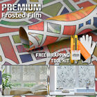 Frosted Color Glass Film Office Window Privacy Security Sticker Decal 5022