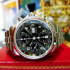 MAURICE LACROIX Chronograph 39721 Day-Date Stainless Steel Automatic Men's Watch