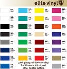 12 x 10 Roll Permanent Adhesive Glossy Vinyl for Crafts Decals Signs