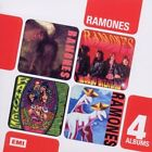 Boxed Set 4CD Brain Drain/Mondo Bizarro/Acid Eaters/Adios Amigos The Ramones Aud