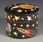 Eric Olson Pottery, Space Covered Box, art pottery, arts and crafts pottery