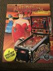 1990 Williams Riverboat Gambler Pinball Flyer