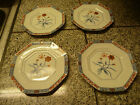 Fitz and Floyd Jardin de Chine Bread/Dessert Plates Dated 1979 Set of 4