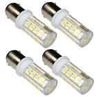 4pcs LED Light Bulbs BA15d Double Contact Bayonet Base for Singer Sewing Machine