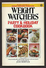 Vintage 1982 Weight Watchers Party  Holiday Cookbook Softcover First Printing