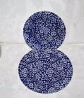 Queen's China Calico Blue Chintz 8 1/2