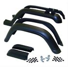 Crown 5AHK6 6 Piece Fender Flare Kit for 87 95 Jeep Wrangler YJ
