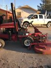 Toro commercial 325D 72 4wd rotary mower with snow blower attachment