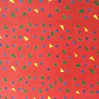 Creative Memories 10x12 TEXTILES Paper RED PEPPER SINGLE SHEET