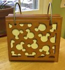 Disney Michael Graves Wooden Photo Album Flip Stand. Collectible, Hard To Find!