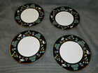 4 Fitz and Floyd China Chinoiserie Salad Plates FF41
