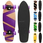 27Mini Skateboard Cruiser Style Complete Wooden Skate Board fashion CLSV